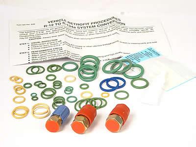AC Retrofit Kit - For R12 to R134 (all European Cars)