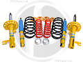 -9-3 Sports Turbo X Bilstein B8 - Eibach Lowering Suspension Kit